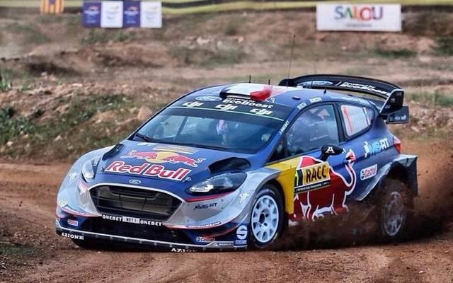 Sebastien Ogier gewann die Generalprobe für die Rallye Spanien
