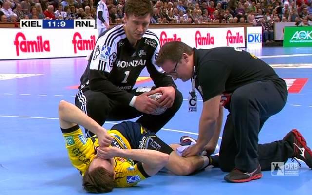 Patrick Groetzki verletzte sich im Spiel gegen den THW Kiel