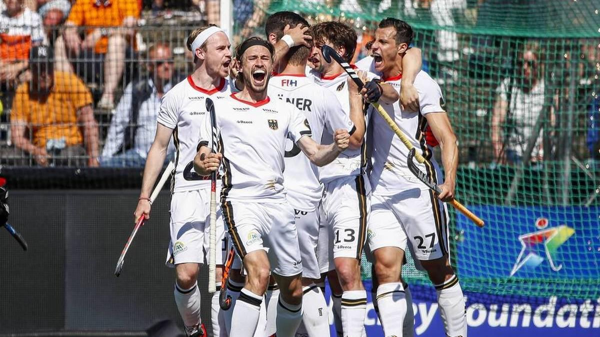 Die deutschen Hockey-Herren stehen im EM-Halbfinale
