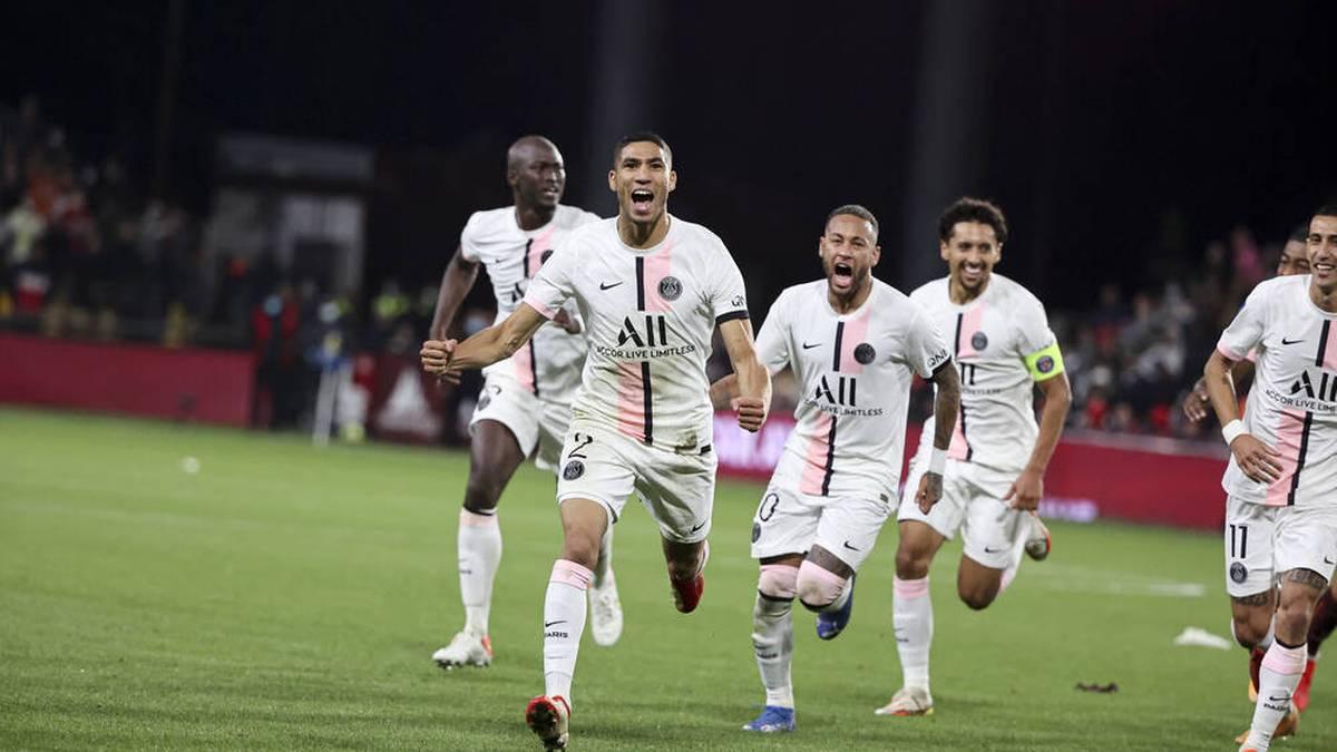 PSG mit Dusel und Zoff - Boateng bei Lyon außen vor