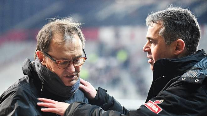 Andreas Rettig (rechts) und Ewald Lienen bilden ein starkes Team beim FC St. Pauli