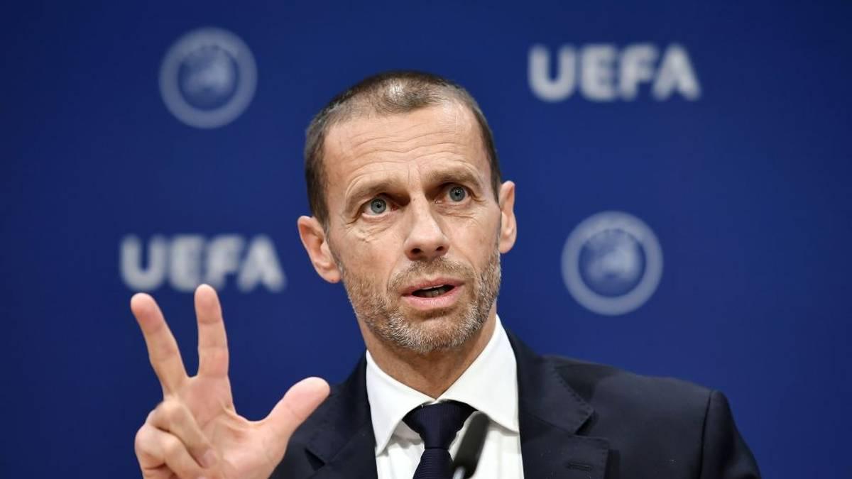 UEFA-Präsident Aleksander Ceferin hat drei Corona-Meetings vor sich