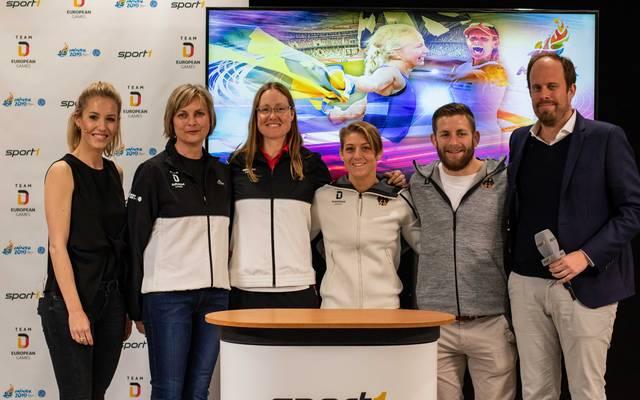 European Games, Medientag, SPORT1