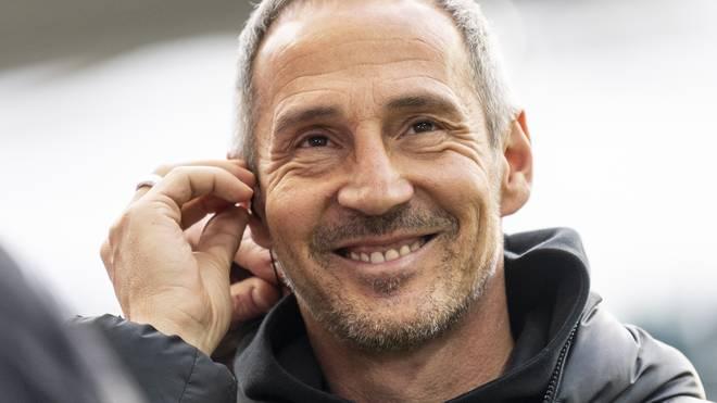 Adi Hütter ist Trainer von Eintracht Frankfurt