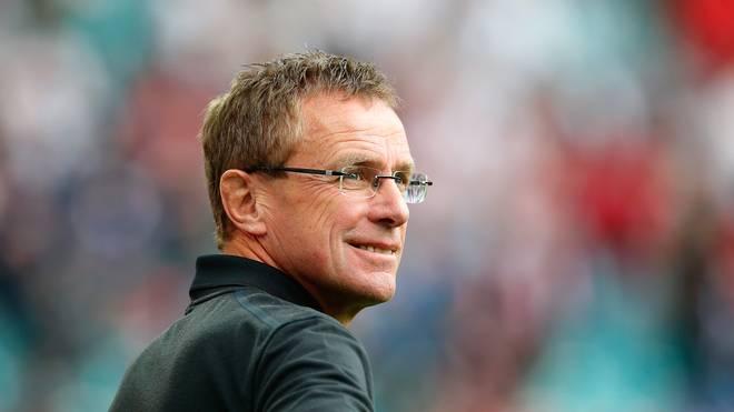 Ralf Rangnick ist seit dieser Saison Trainer bei RB Leipzig