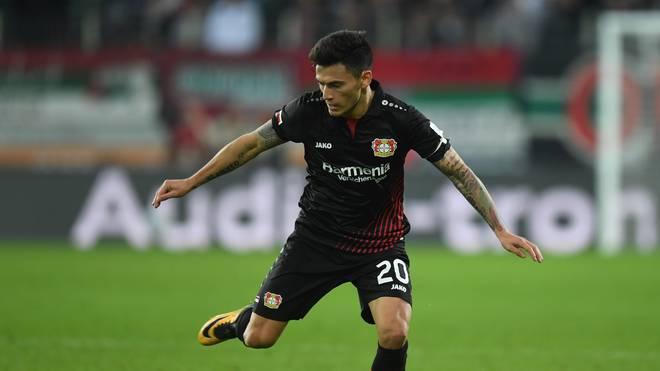 Leverkusens Charles Aranguiz zog sich im Dezember einen Muskelfaserriss zu