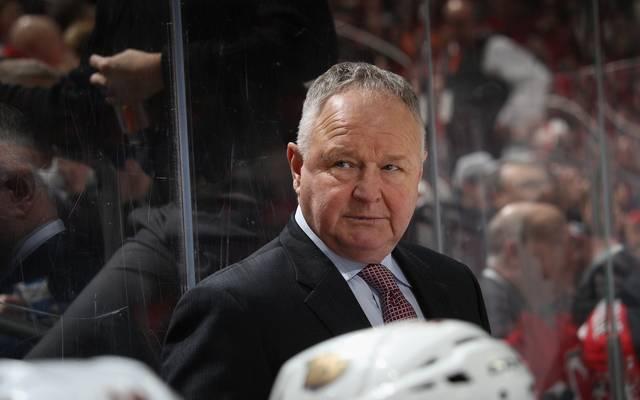 Anaheim Ducks Coach Randy Carlyle
