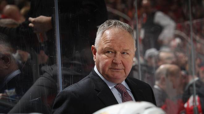 Anaheim Ducks Coach Randy Carlyle