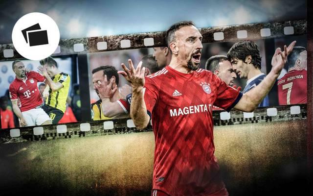 Franck Ribery und seine Ausraster: ein Blick in die Vergangenheit