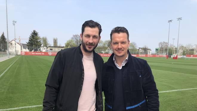 SPORT1-Reporter Florian Plettenberg traf Sandro Schwarz in Mainz