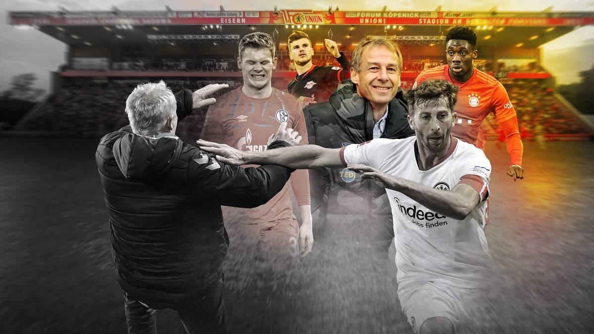Die Bundesliga hat mit RB Leipzig einen Debüt-Herbstmeister. Der FC Bayern und Borussia Dortmund wackeln. SPORT1 präsentiert die Tops und Flops der Hinrunde