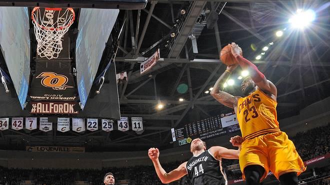LeBron James erzielte gegen die Nets 24 Punkte