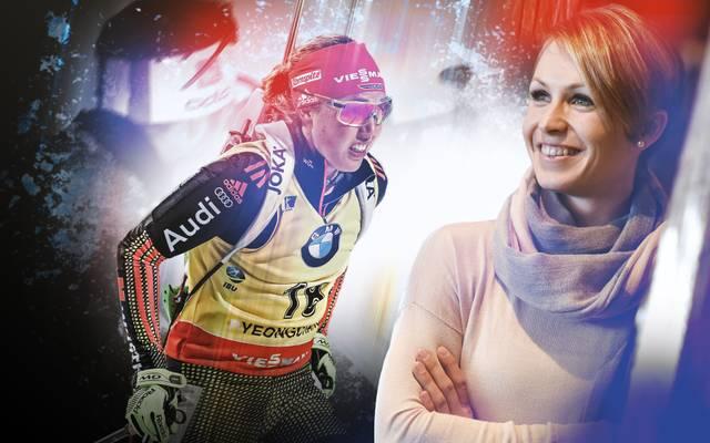 Magdalena Neuner ist das große Vorbild von Laura Dahlmeier