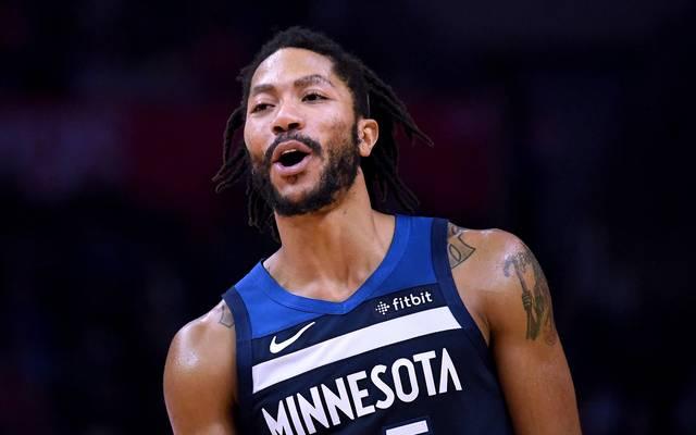 NBA: Derrick Rose führt Minnesota Timberwolves zum Sieg