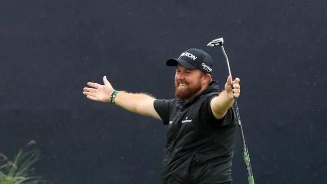 Shane Lowry freut sich über seinen Triumph bei der 148. British Open
