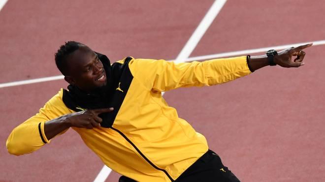 Usain Bolt hält sowohl bei den 100 m als auch bei den 200 m den Weltrekord