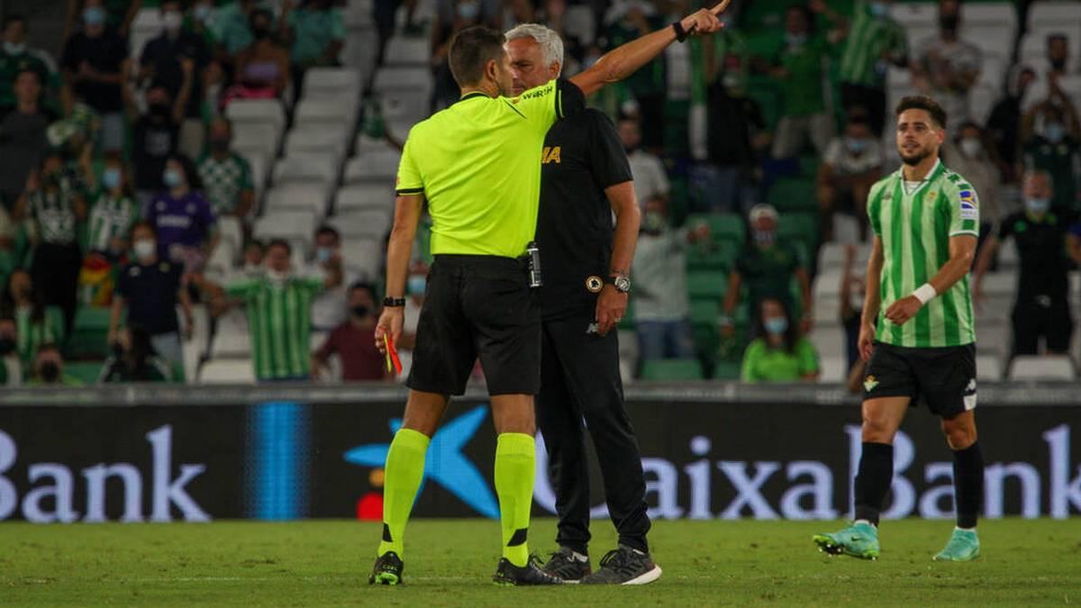Auch Mourinho sieht Rot! Roma-Test endet in Chaos