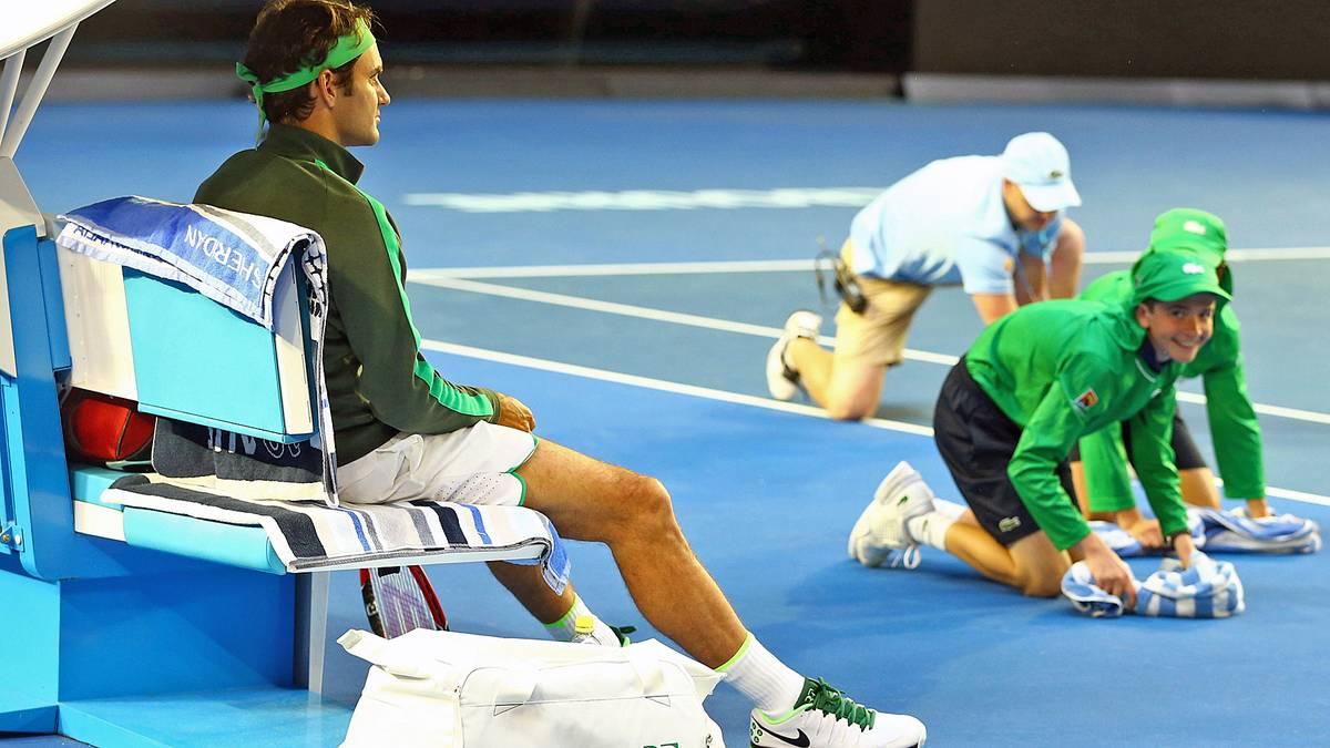 Roger Federer war zuletzt im November 2012 die Nummer 1 des ATP-Rankings