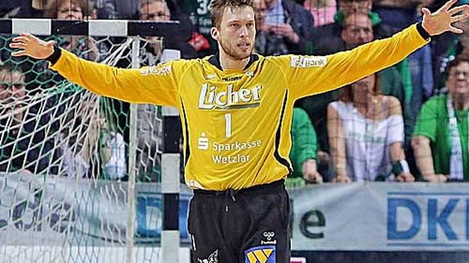 Magnus Dahl spielt seit 2013 für Wetzlar