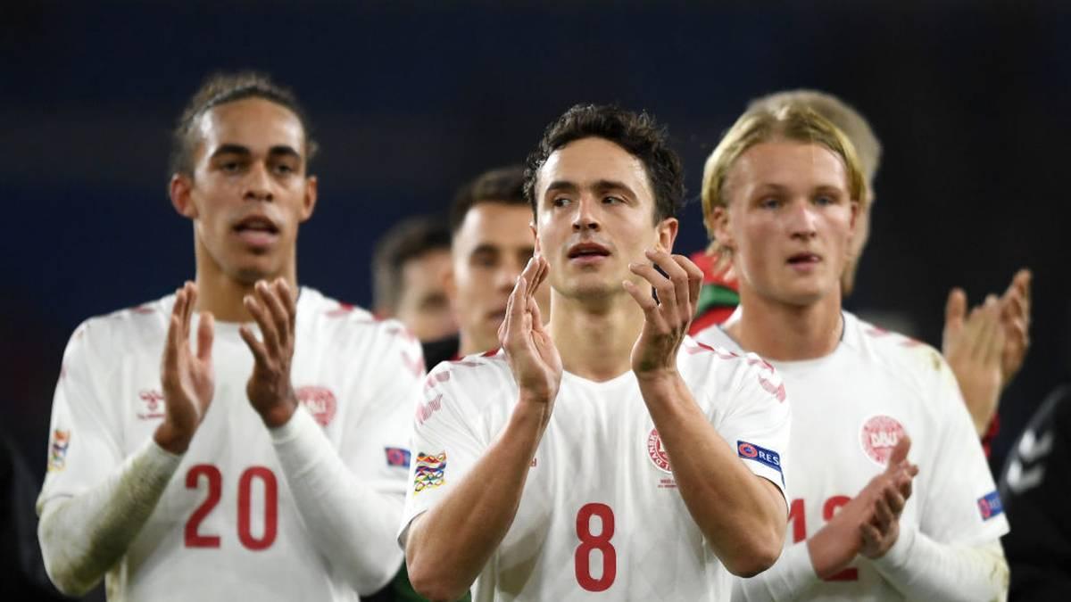 Thomas Delaney legt gegen Finnland vor - zumindest virutell