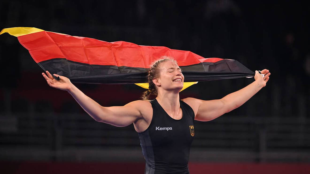 Aline Rotter-Focken hat bei den Olympischen Spielen Geschichte geschrieben