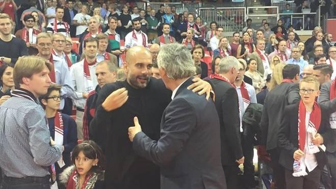 Pep Guardiola und Svetislav Pesic