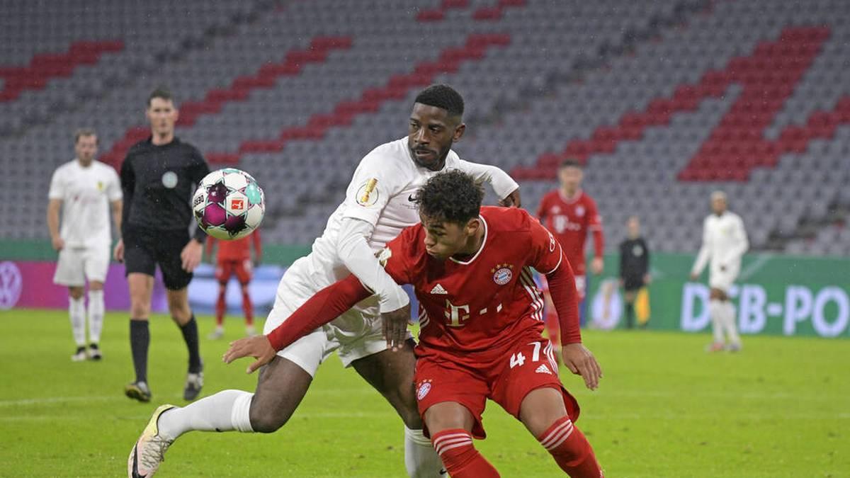 Armindo Sieb in seinem ersten und bisher einzigen Profi-Einsatz für den FCB