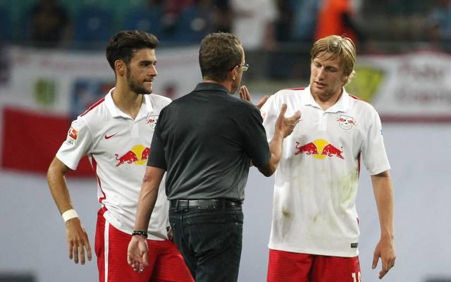 Ralf Rangnick hofft auf einen langen Verbleib von Emil Forsberg