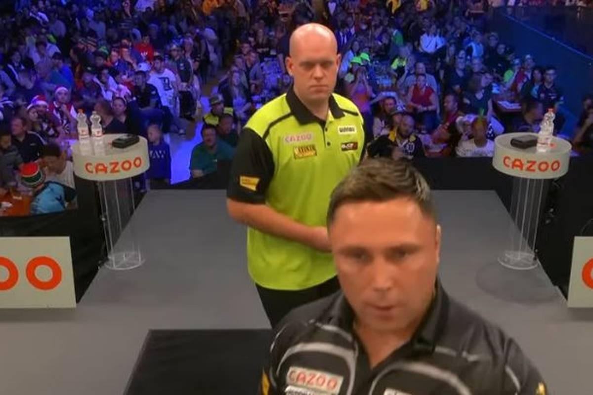 Michael van Gerwen gewinnt ein packendes EM-Viertelfinale gegen Weltmeister Gerwyn Price mit 10:8 und greift in Salzburg nach dem Titel.