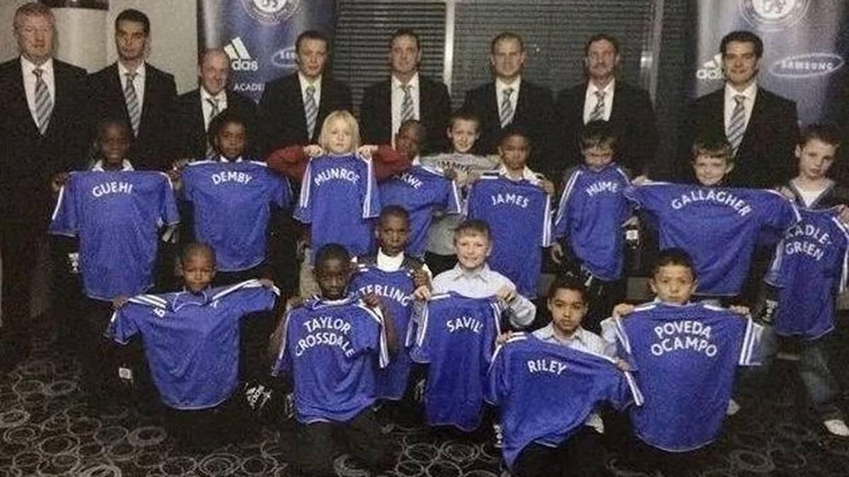 Neun der 15 Chelsea-Talente von 2008 sind aktuell Fußballprofis