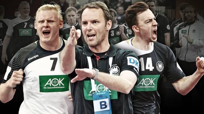 Patrick Wiencek, Dagur Sigurdsson und Patrick Groetzki