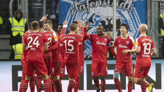 Holstein Kiel feierte einen klaren Sieg in Bochum