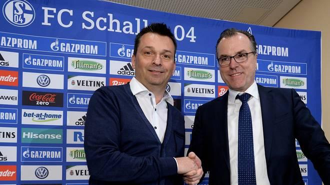 Christian Heidel übernahm das Manager-Amt von Horst Heldt
