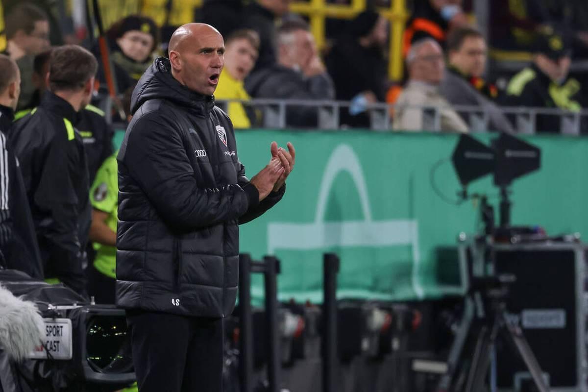 Der FC Ingolstadt liefert Borussia Dortmund einen großen Kampf, die Sensation bleibt aber aus. Nach dem Spiel wirkt es so, als sei der Zweitligist darüber gar nicht so böse.