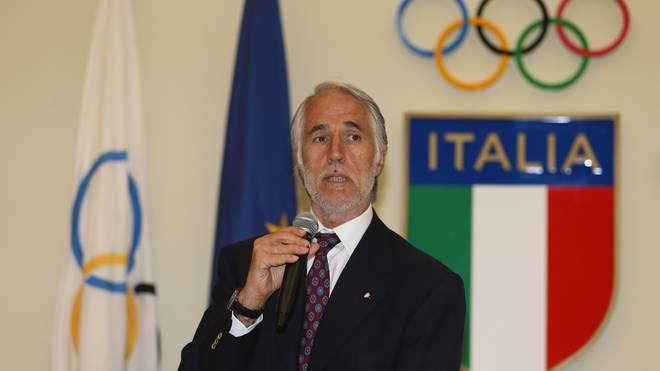 Giovanni Malago ist Präsident des CONI