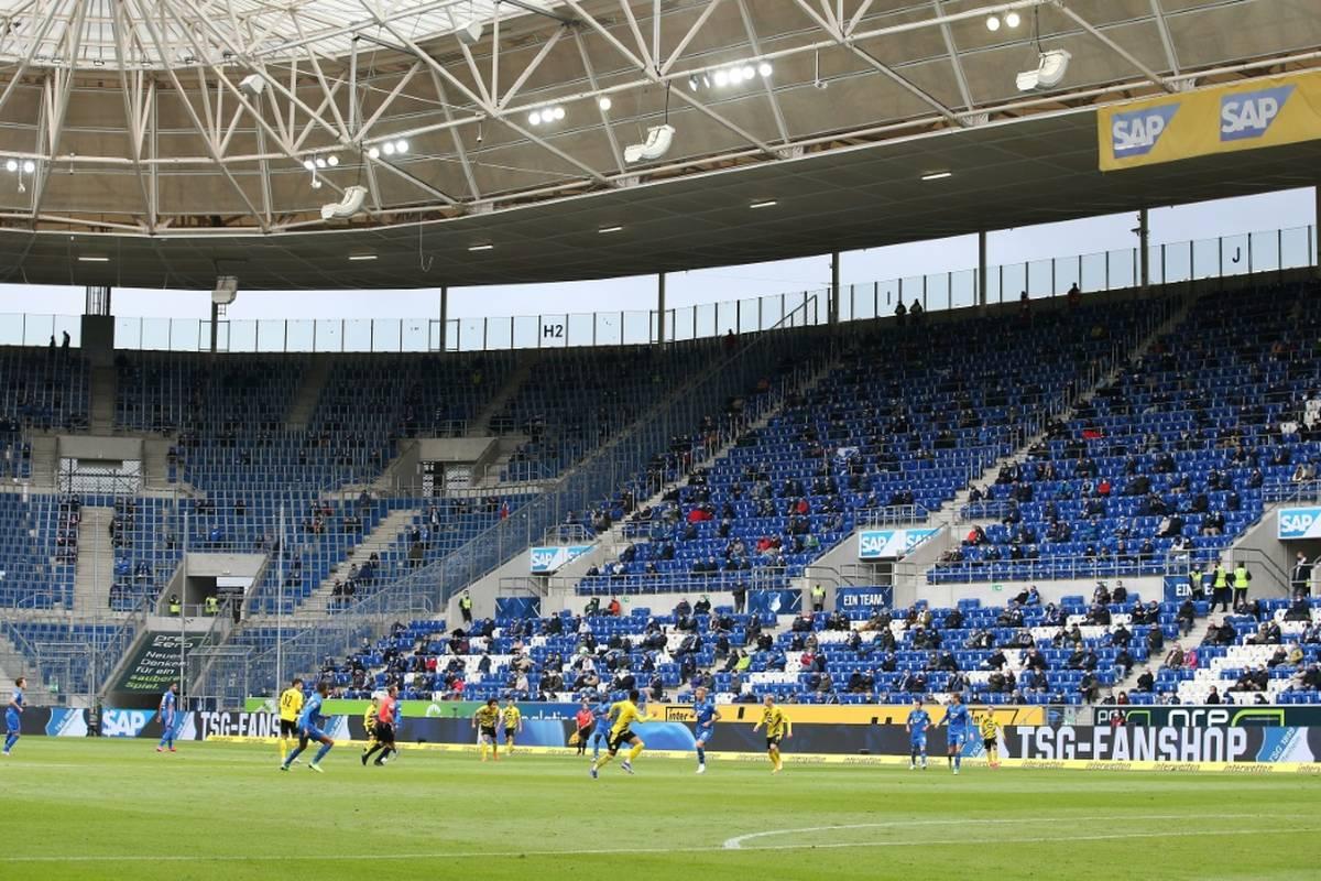 Auch Fußball-Bundesligist TSG Hoffenheim kann ab dem Punktspiel gegen RB Leipzig am 20. November sein Stadion wieder voll auslasten.