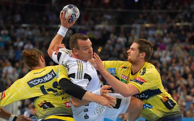 THW Kiel v Rhein Neckar Loewen - EHF Champions League Quarter Final Leg 1