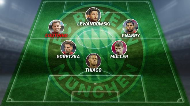 Philippe Coutinho könnte als Linksaußen in einer 4-3-3-Grundordnung spielen