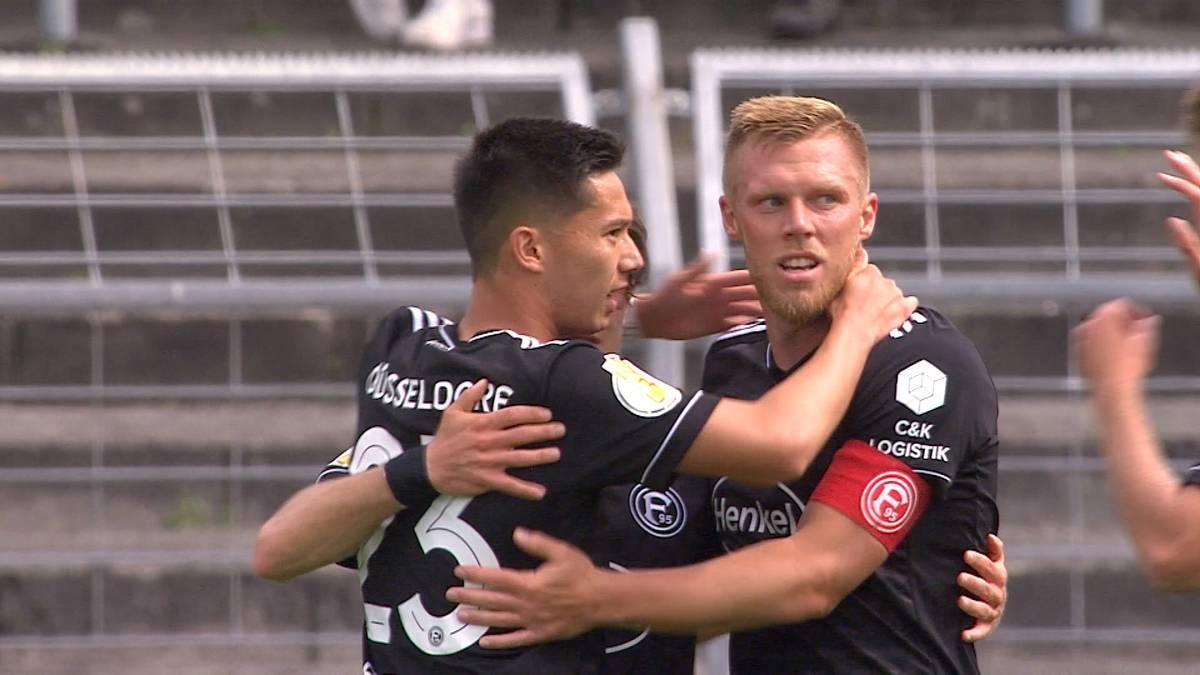 Fortuna Düsseldorf lässt in der ersten Pokalrunde gegen Oldenburg nichts anbrennen. Matchwinner ist mal wieder Rouwen Hennings.