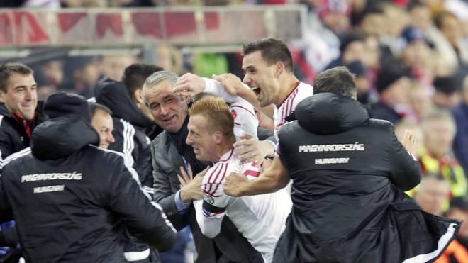Ungarn gewinnt das Playoff-Hinspiel in Norwegen