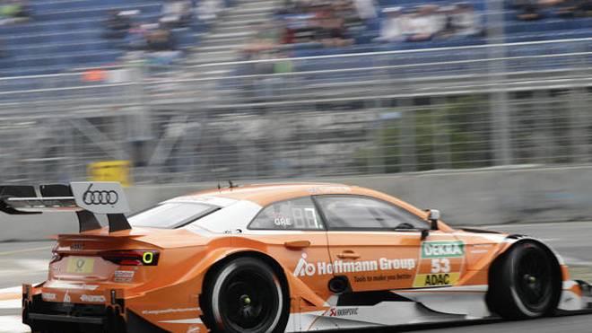 Audi-Mann Jamie Green im ersten Training Schnellster am Moskau Raceway