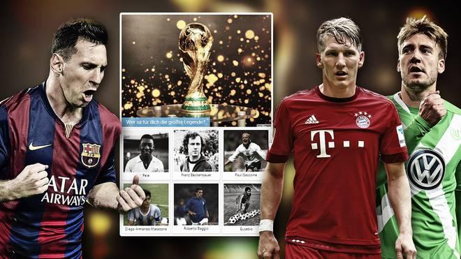 Messi, Schweinsteiger & Bendtner jubeln
