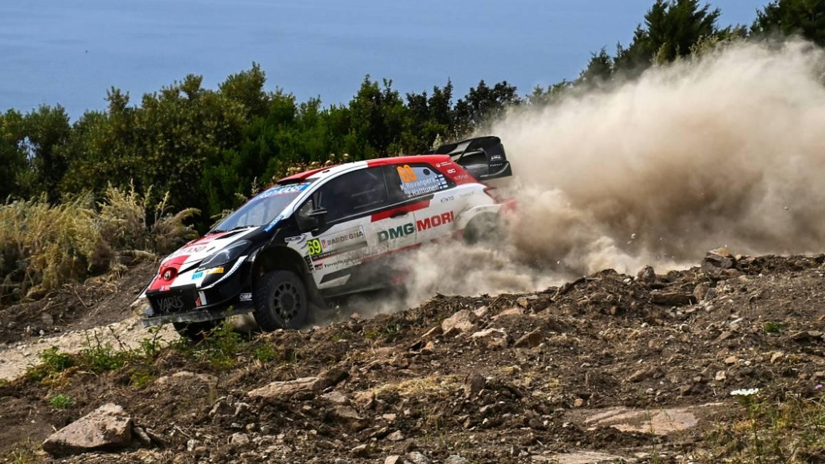 Toyota-Pilot Rovanperä führt weiter bei der Estland-Rallye