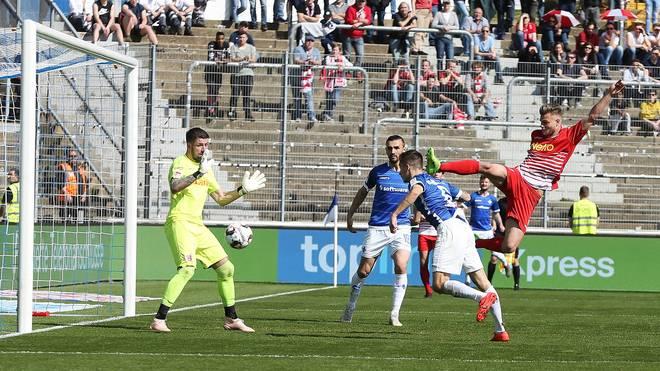 Darmstadt 98 kam gegen Jahn Regensburg nicht über ein 1:1 hinaus