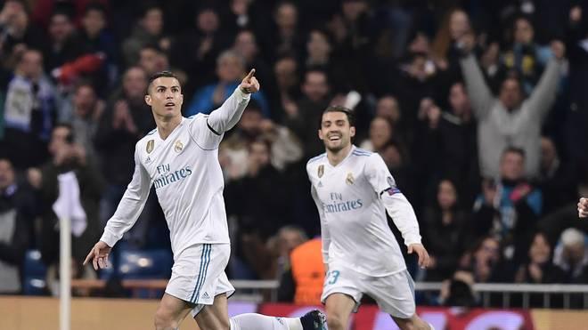 Cristiano Ronaldo (l.) traf zum 2:0 für Real Madrid gegen den BVB
