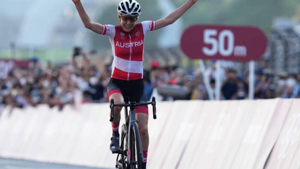 Anna Kiesenhofer wird völlig überraschend Olympiasiegerin