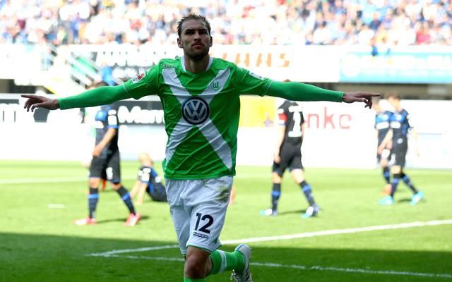 Bas Dost steht noch bis 2017 beim VfL Wolfsburg unter Vertrag