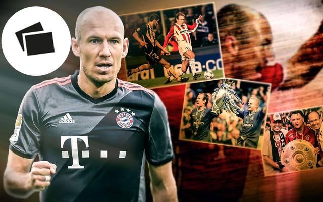 Arjen Robben bestreitet seine letzte Spielzeit beim FC Bayern
