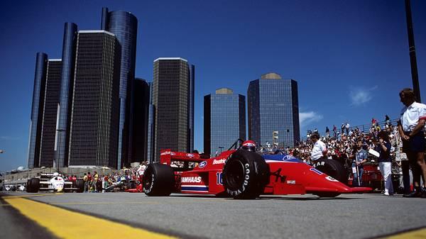 Auch in Detroit machte die Formel 1 schon Station