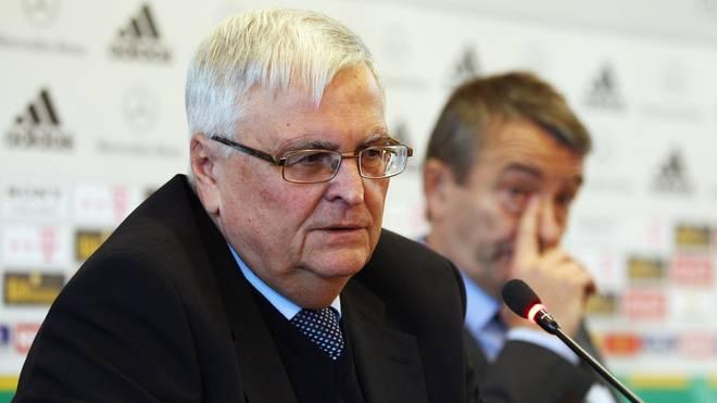 Ex-DFB-Präsident Theo Zwanziger (l.) und der aktuelle Boss Wolfgang Niersbach